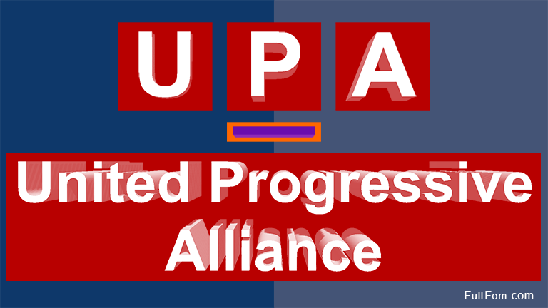 UPA full form