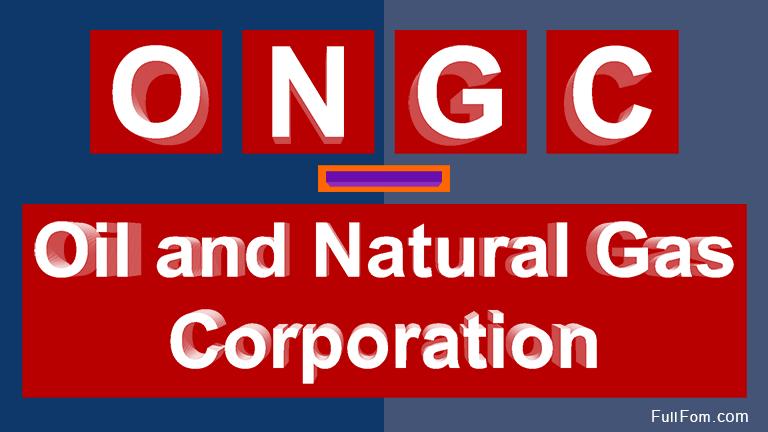 ONGC full form