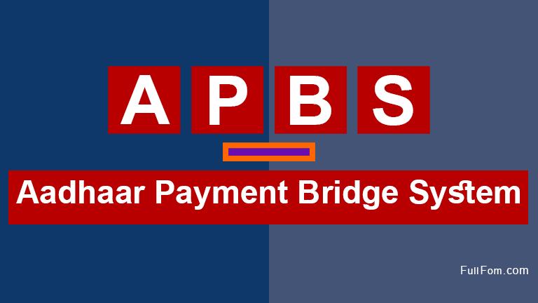 APBS full form