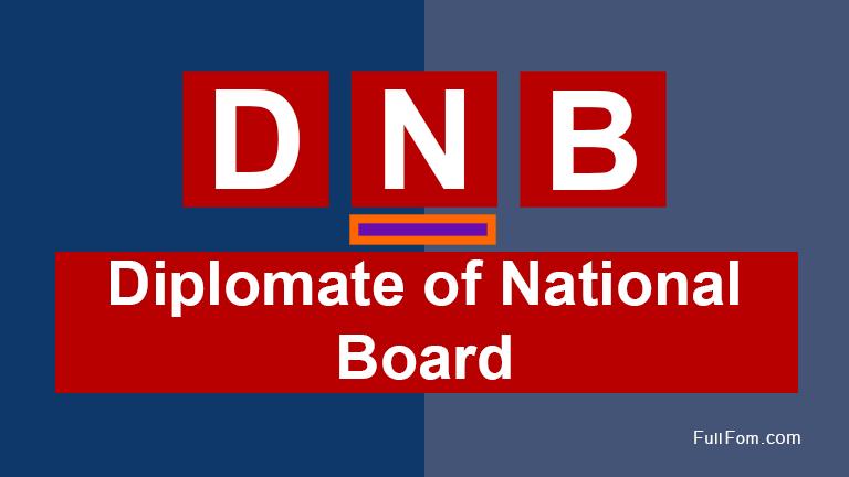 DNB full form