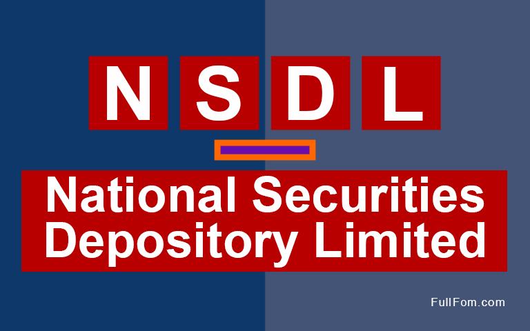 NSDL full form