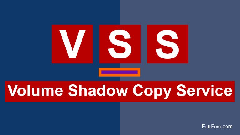 VSS full form